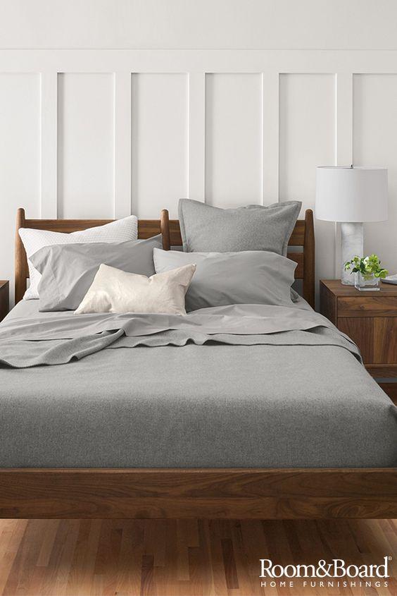 Bedroom Wainscoting Idea