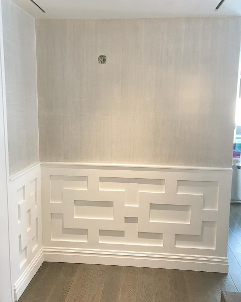 Cool Pattern Wainscoting Ideas