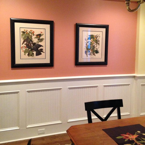 Coral Painted Entryway #paintcolor #relax #homedecor #calming color #decorhomeideas