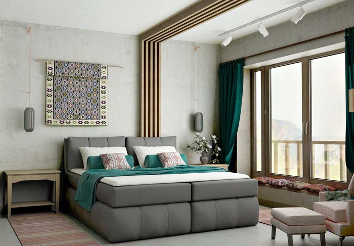 Master Bedroom Traditional Interior Design