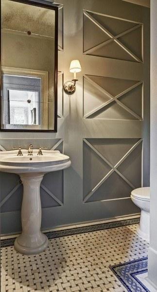 Modern Bathroom Wainscoting Ideas