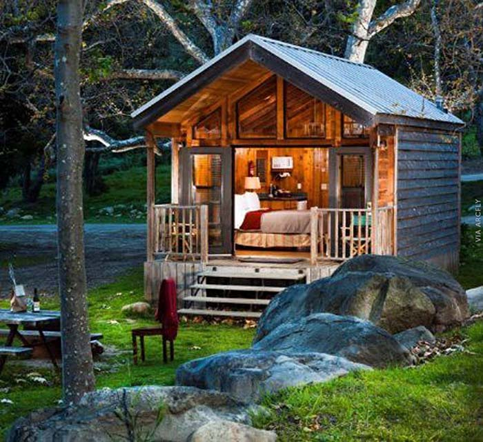 Small Cabin #cabin #loghouse #tinyhouse  #decorhomeideas