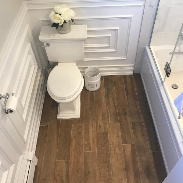Toilet Wainscoting Ideas