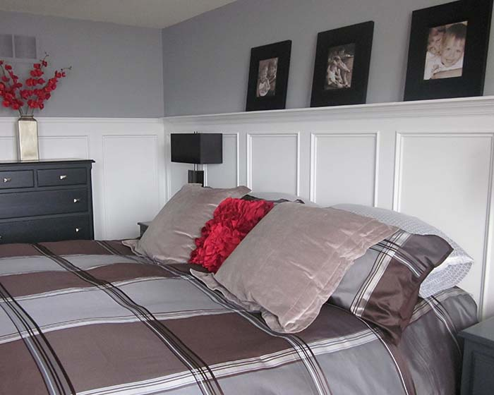 Wainscoting Bedroom Decoration With Photos