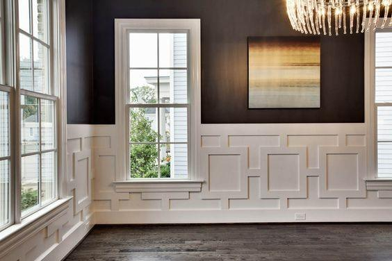 Wainscoting Ideas and Decorations