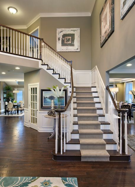 Wainscoting Staircase Design