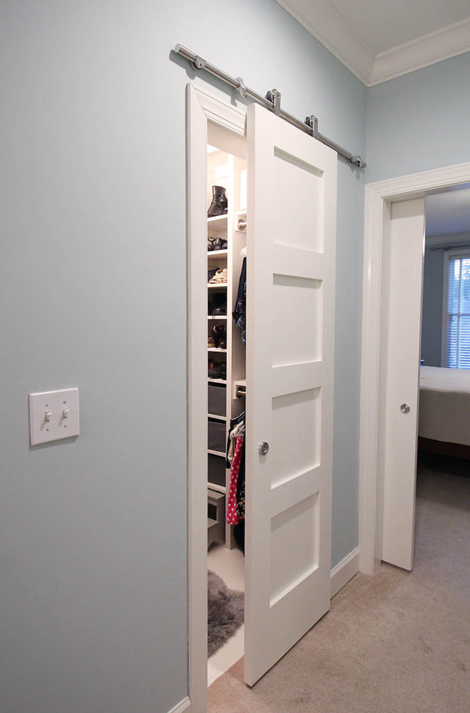 DIY Closet Barn Door