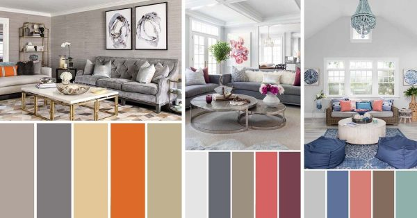 9 Fantastic Living Room Color Schemes