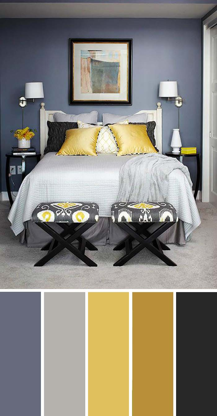 Pearl White Black Cream Bedroom Color Scheme SW Color Names Included #bedroom #color #scheme #decorhomeideas #colorchart