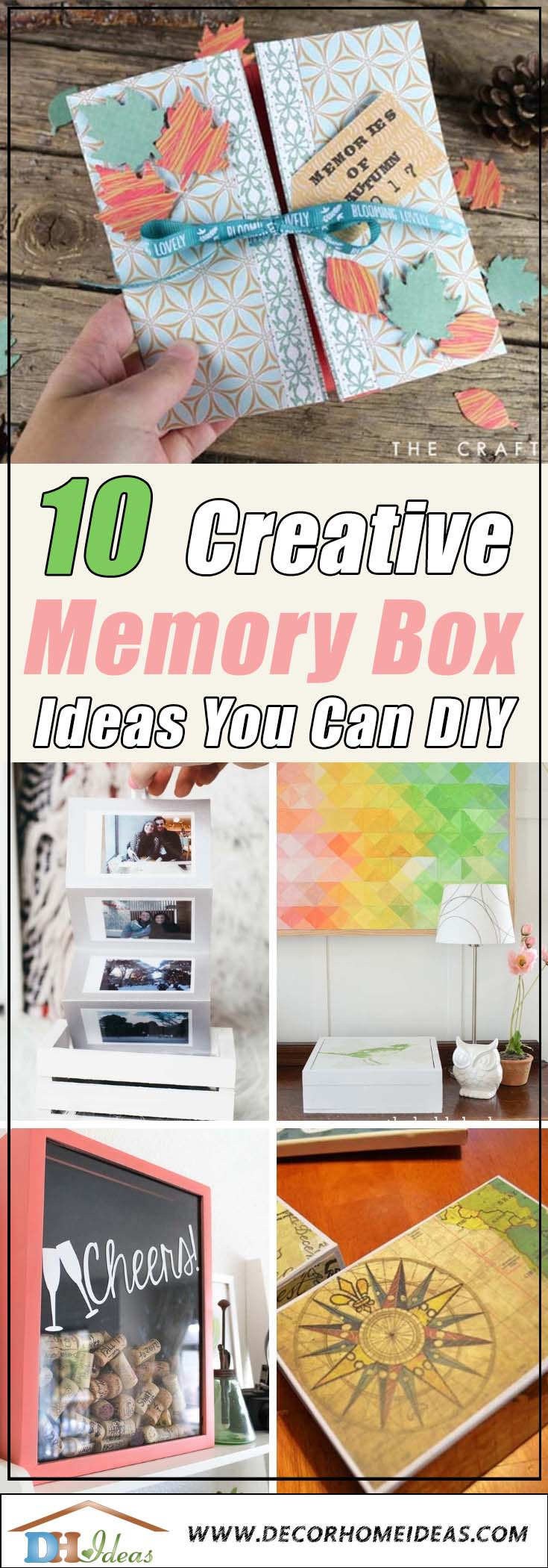 10 Creative DIY Memory Box Ideas #memorybox #diy #decorhomeideas