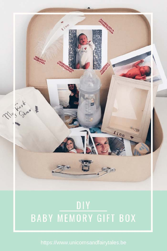 Baby Memory Gift Box #memorybox #diy #decorhomeideas