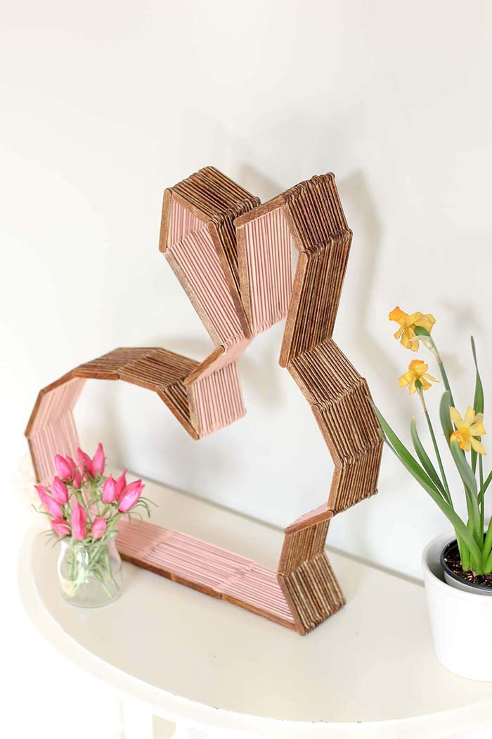 DIY Nursery Decor Easter Bunny #easter #decoration #spring #diy #decorhomeideas