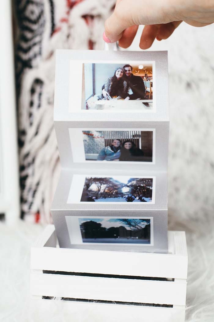 DIY Polaroid Memory Box #memorybox #diy #decorhomeideas