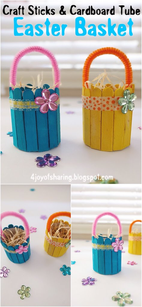 Easter Baskets #easter #crafts #diy #decorhomeideas