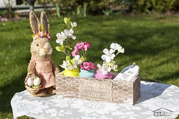Easter Centerpiece #easter #crafts #diy #decorhomeideas