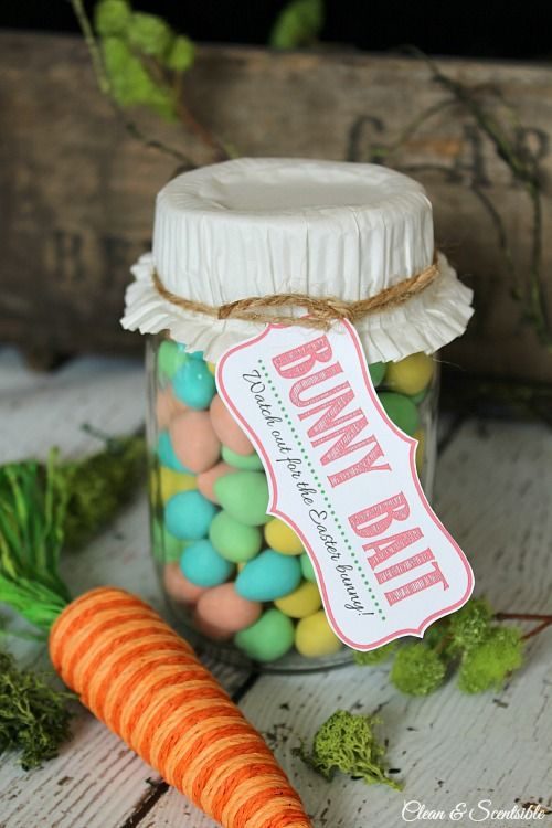 Easter DIY Mason Jar #easter #decoration #spring #diy #decorhomeideas