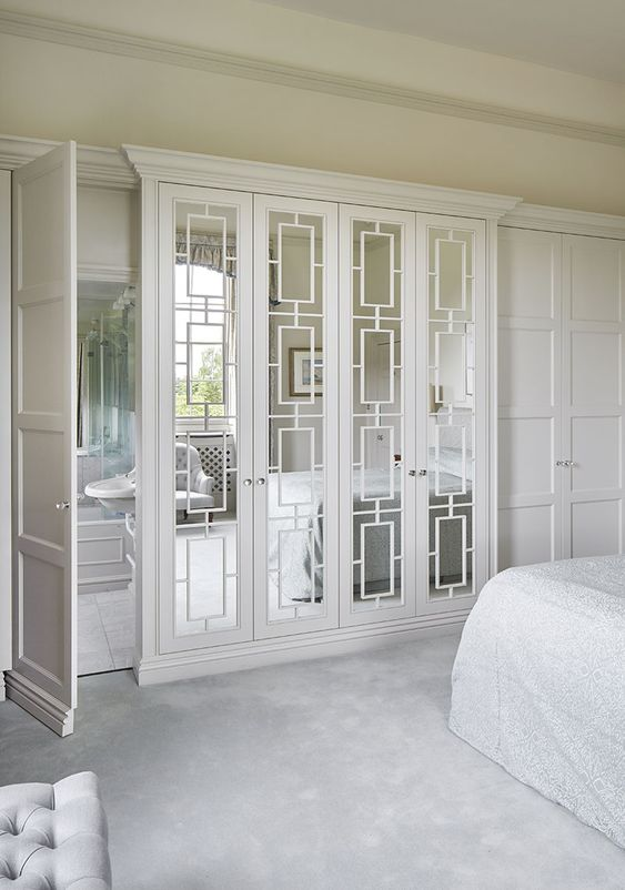 Fabulous Mirror Closet Doors #closet #mirror #door #decorhomeideas