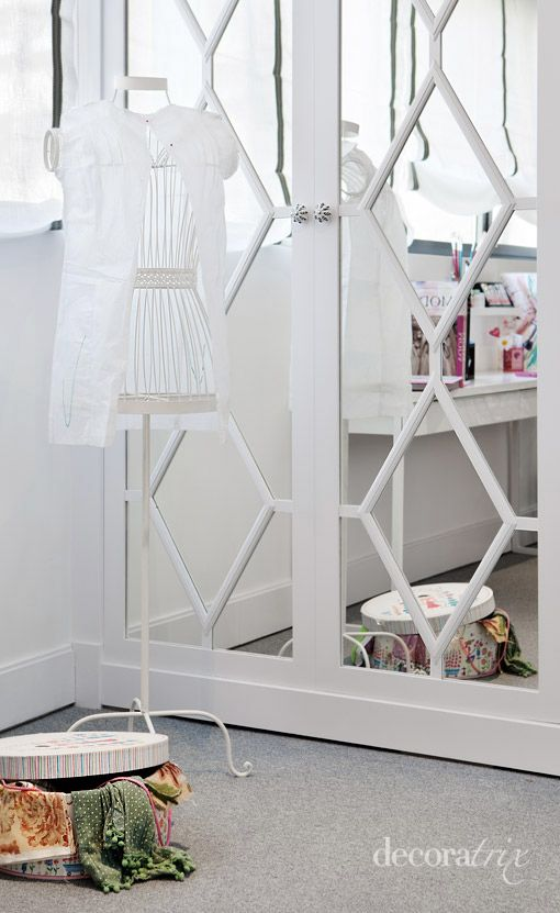 Glam Mirror Closet Ideas #closet #mirror #door #decorhomeideas