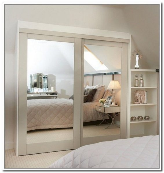 Mirror Closet Door Design #closet #mirror #door #decorhomeideas