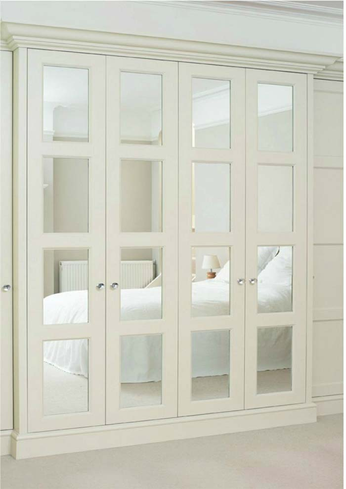Mirrored Closet Doors #closet #mirror #door #decorhomeideas