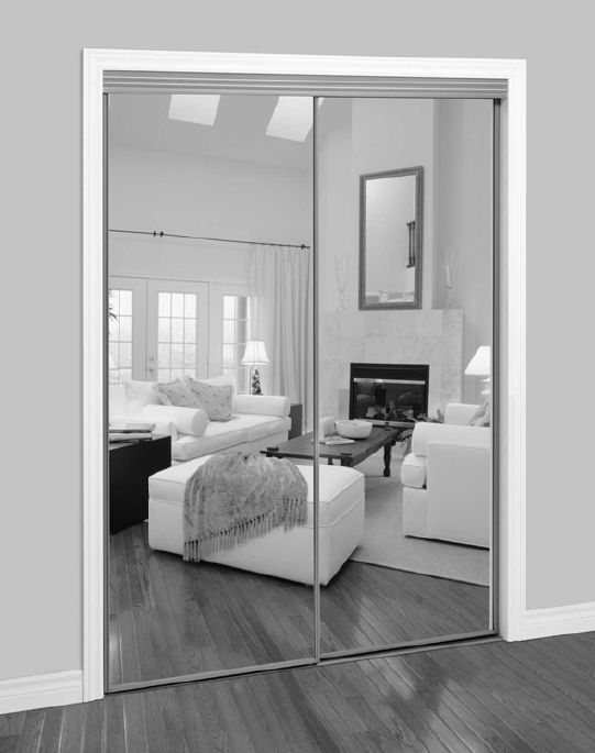 Sliding Mirror Walk-In Closet Door #closet #mirror #door #decorhomeideas