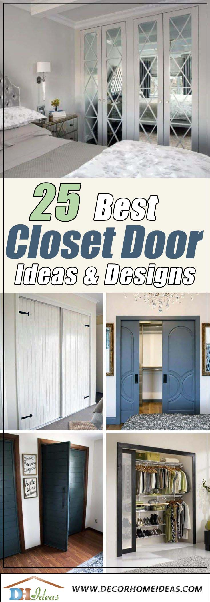 Best Closet Door Ideas #closet #door #interior #decorhomeideas