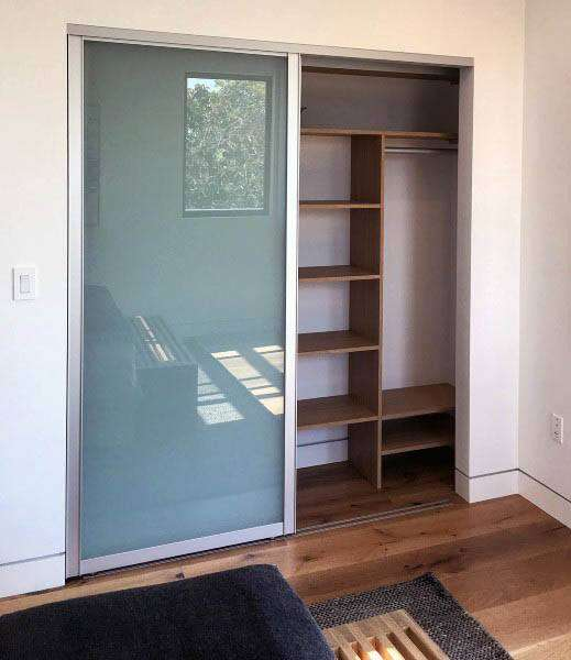 Contemporary closet door design ideas #closet #door #interior #decorhomeideas