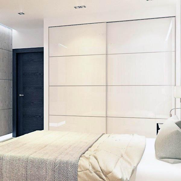 Cool contemporary closet door ideas for small space #closet #door #interior #decorhomeideas