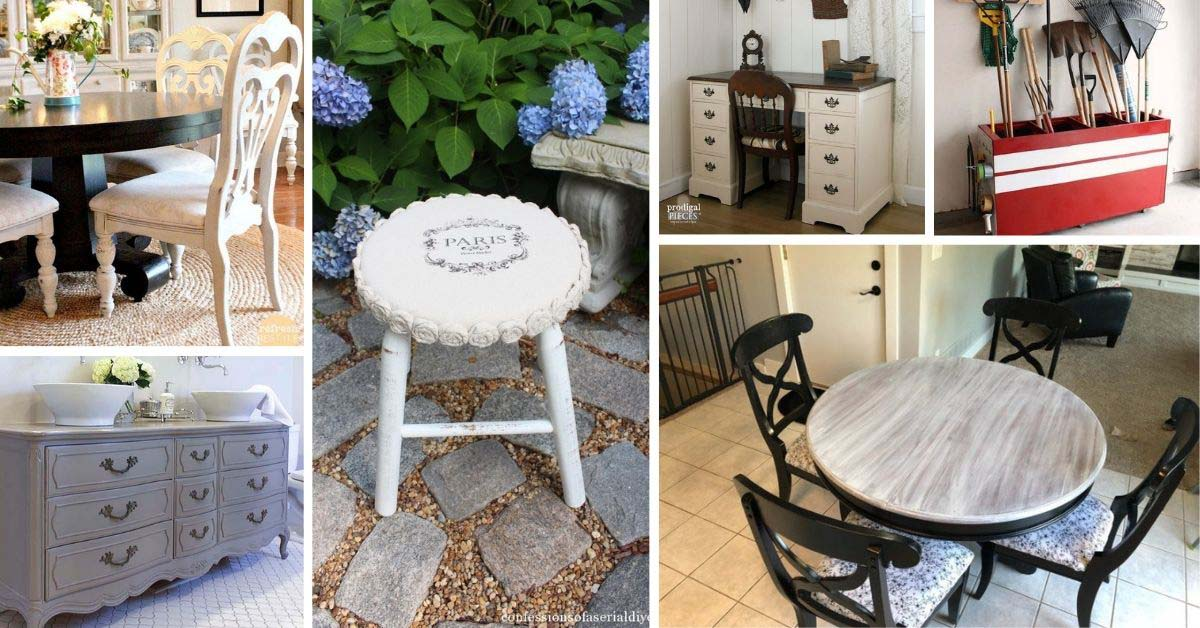 DIY Furniture Makeover Ideas With Tutorials