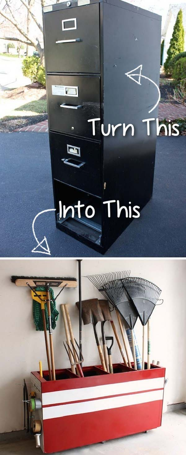 File Cabinet Makeover #furniture #makeover #diy #decorhomeideas