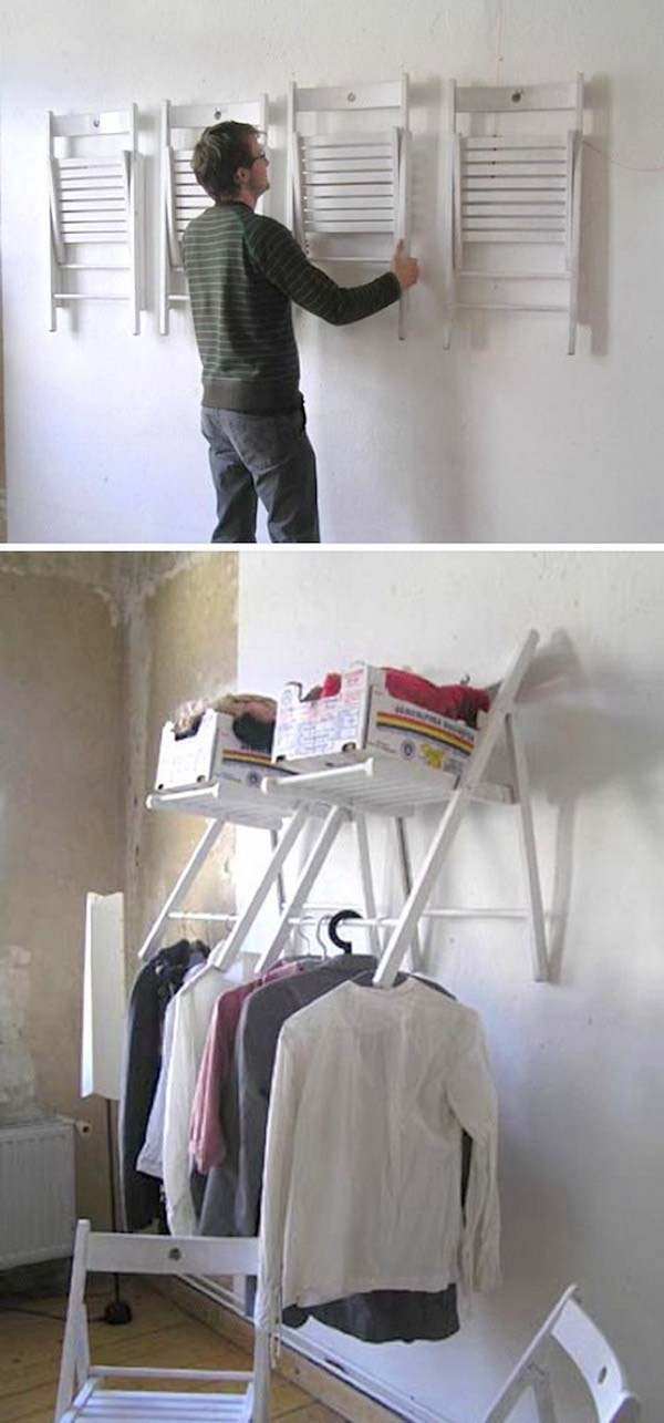 Hanging Chair Organizer #furniture #makeover #diy #decorhomeideas