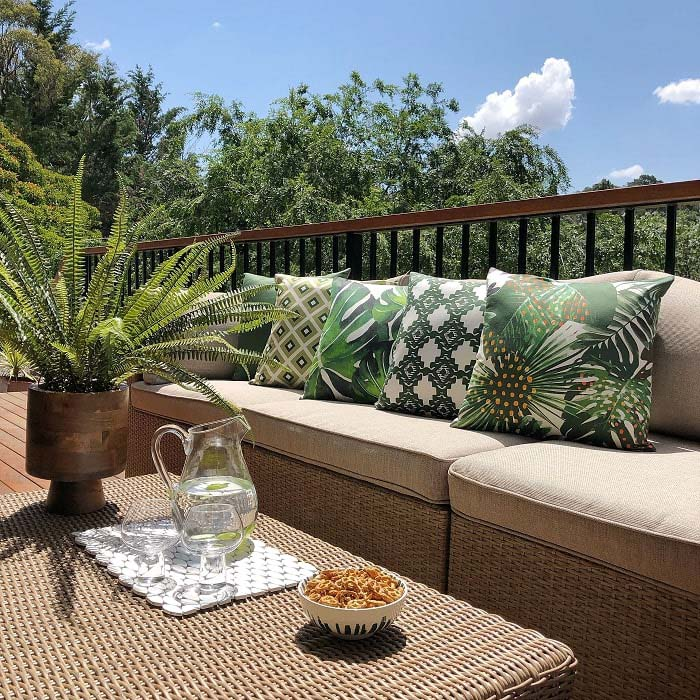 Floral Patio Cushions