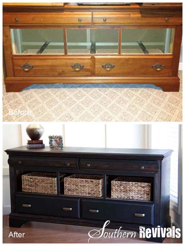 DIY Dresser Makeover #diy #furniture #makeover #repurpose #decorhomeideas