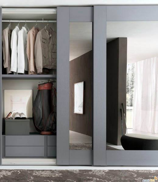 Sliding Door closet design ideas #closet #door #interior #decorhomeideas