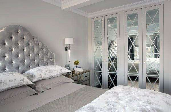 Closet doors with mirrors #closet #door #interior #decorhomeideas