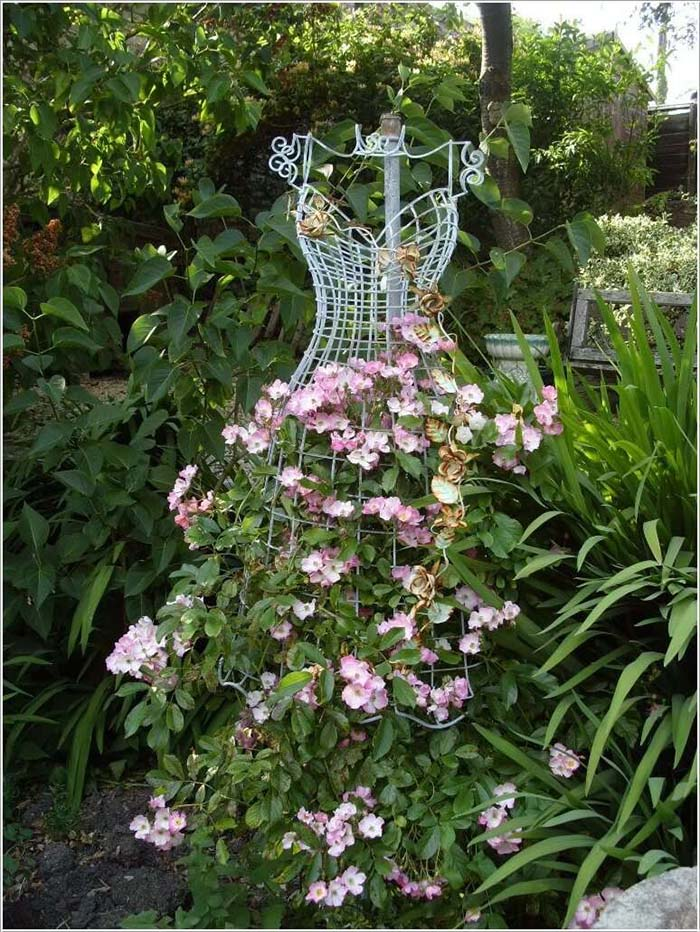 Dress Shaped Trellis