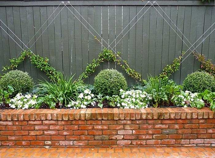 Trellis Ideas With Strings #garden #trellis #decorhomeideas