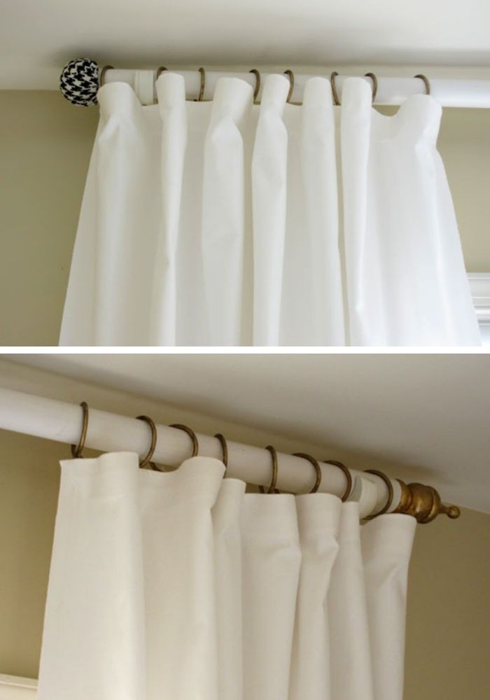 Unusual Curtain Rods