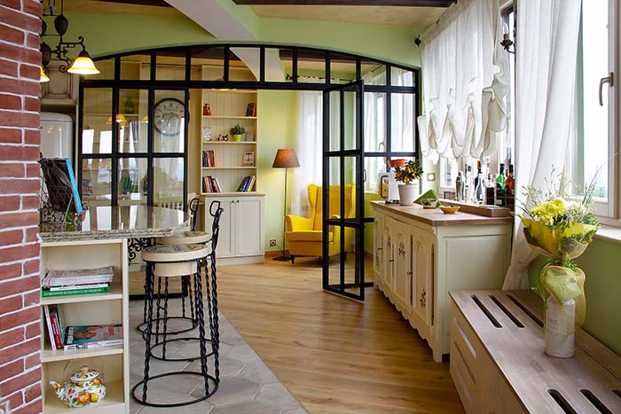 Apartment Interior Design Provence In Paris