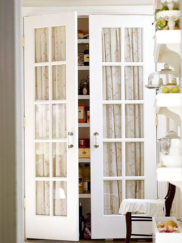 French Doors Closet #closet #doors #organization #decorhomeideas