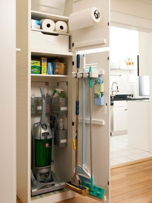 Use Your Closet For All Home Maintenance Tools and Detergents #closet #homedecor #decorhomeideas