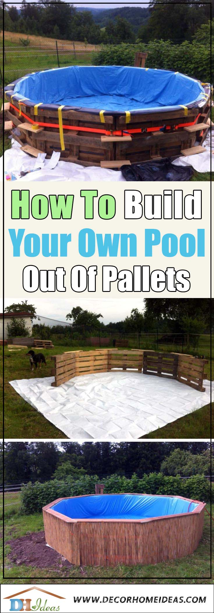 How To Make Your Own Pool Out Of Pallets