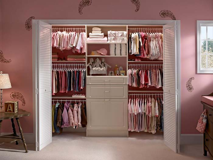 Louver Doors For Closet #closet #doors #organization #decorhomeideas