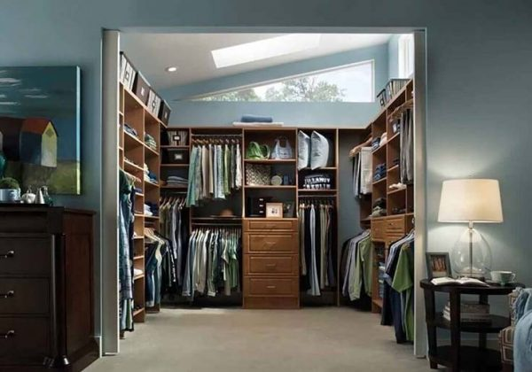Mens Walk In Closet Design #closet #storage #decorhomeideas