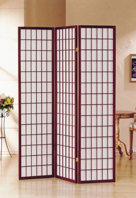 Room Divider As Closet Door #closet #doors #organization #decorhomeideas