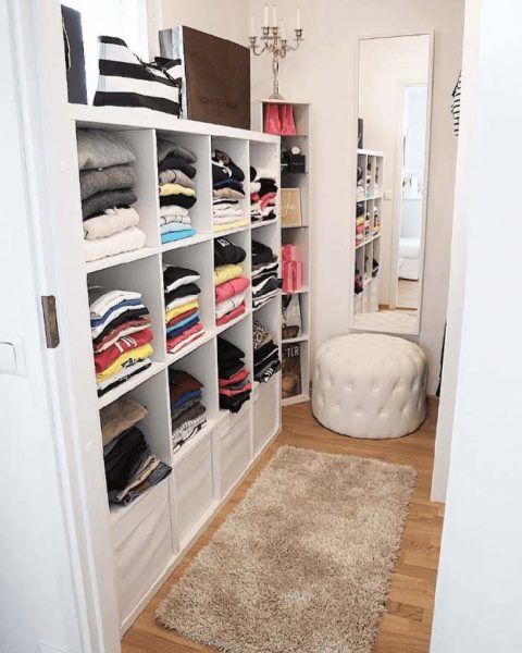 Shelving Units Walk In Closet Storage #closet #storage #decorhomeideas