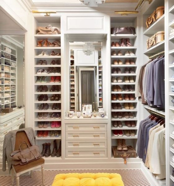 Storage Organization Walk In closet #closet #storage #decorhomeideas