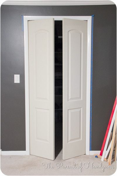 Swinging Closet Doors #closet #doors #organization #decorhomeideas