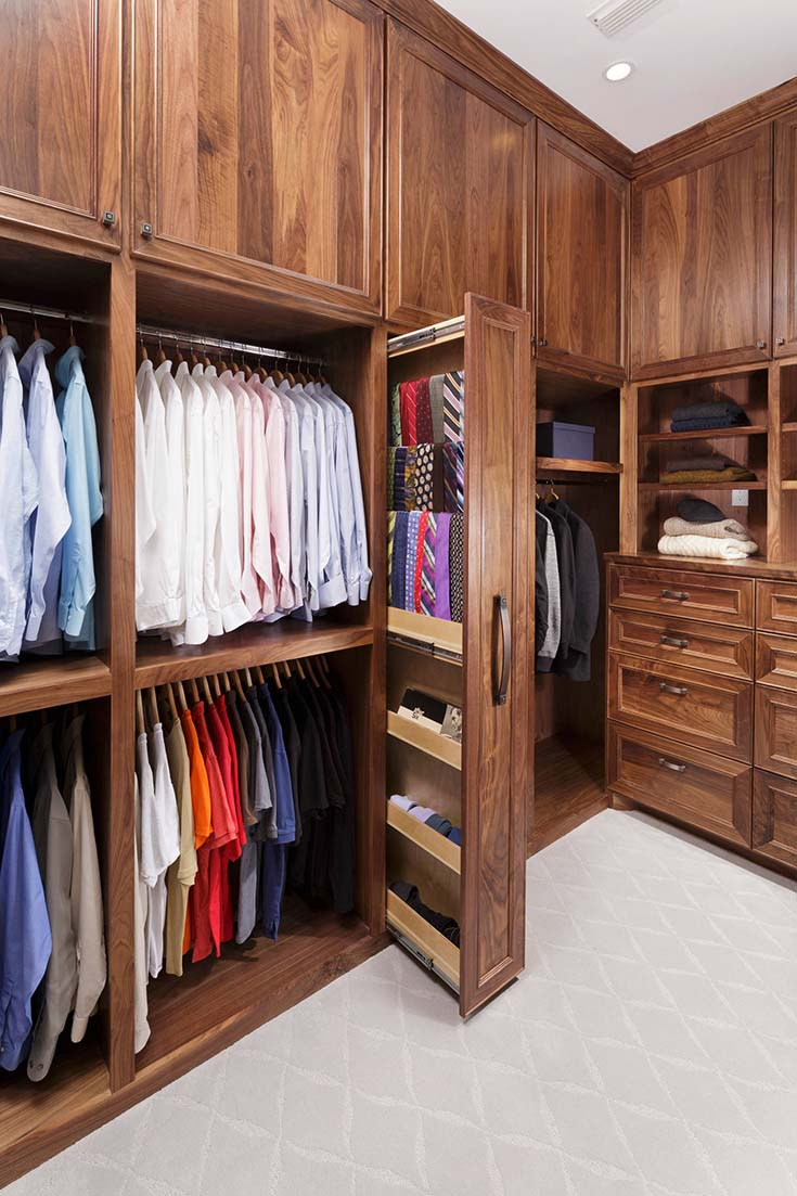 Walk In Closet Design and Photo #closet #storage #decorhomeideas