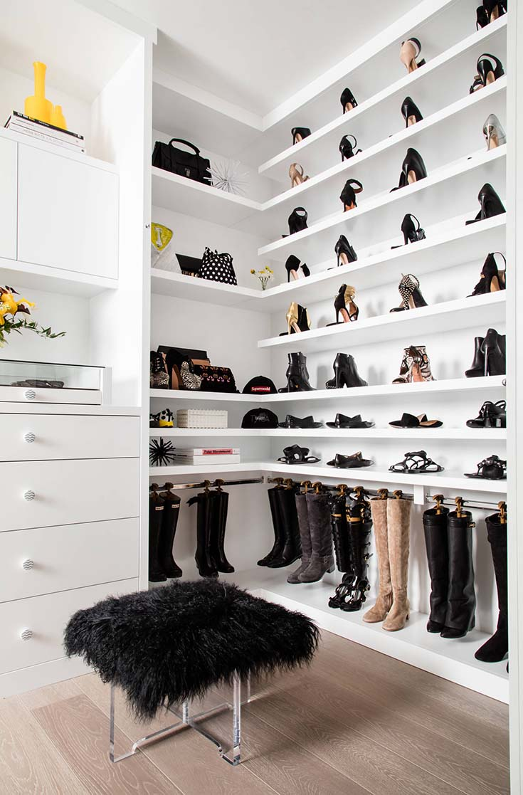 Walk In Closet Shelving #closet #storage #decorhomeideas